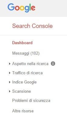 Search Console Dashboard